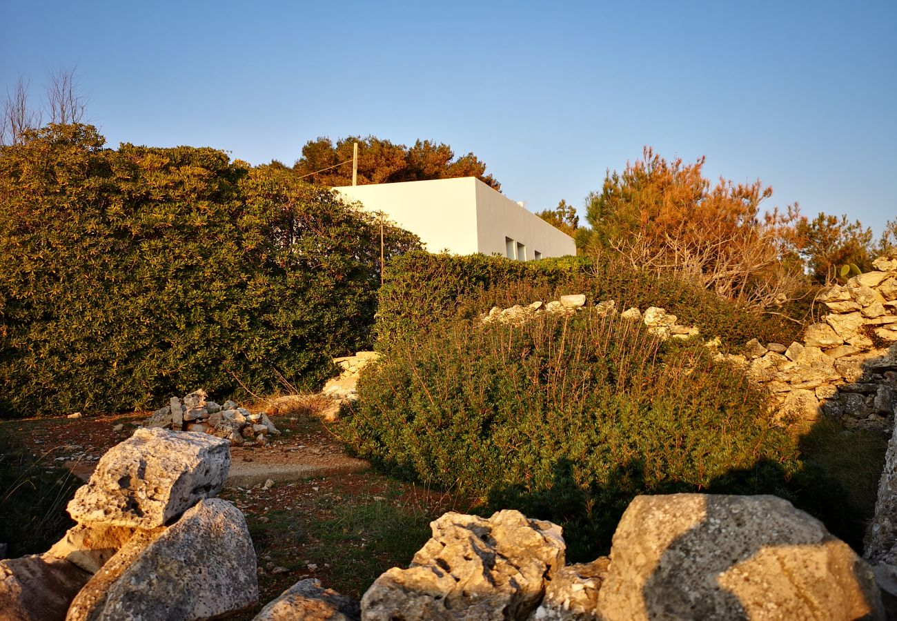 Maison à Leuca - Villa avec accès direct mer et vue exceptionnelle
