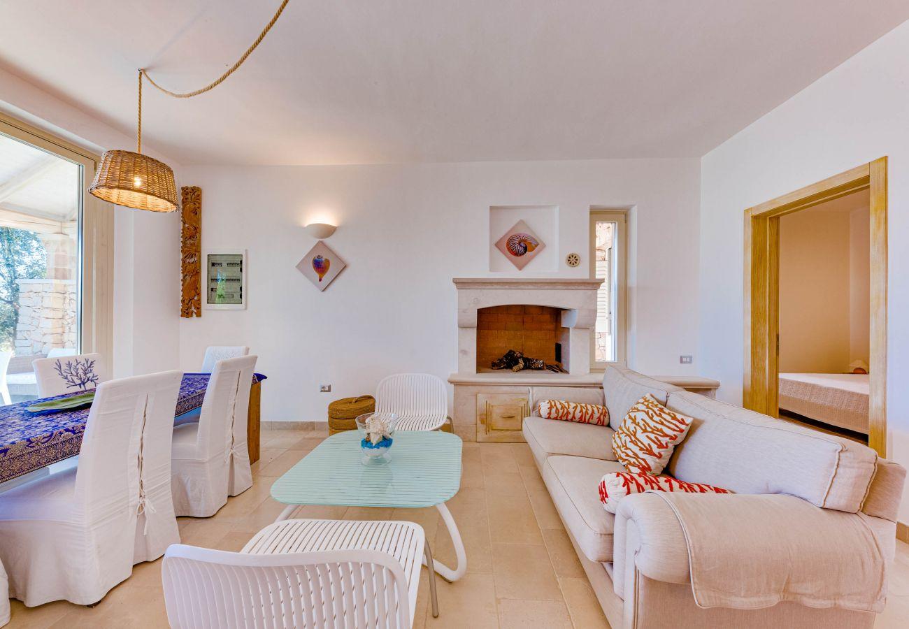 Villa à Gagliano del Capo - Villa de rêve avec piscine et vue mer magnifique