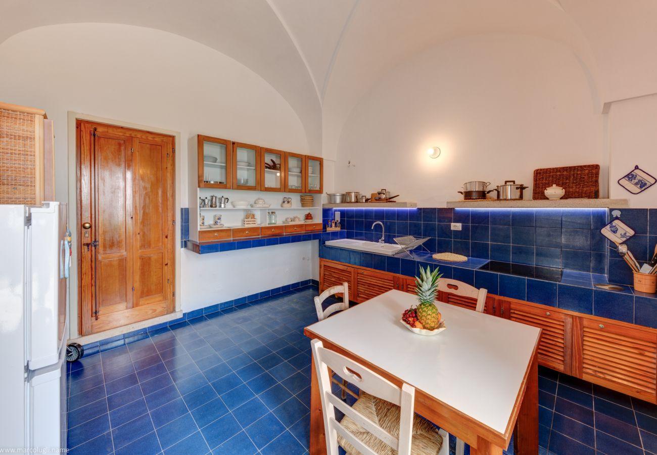 Casa a Castrignano del Capo - Villa sul mare, nella pineta, con accesso diretto al mare