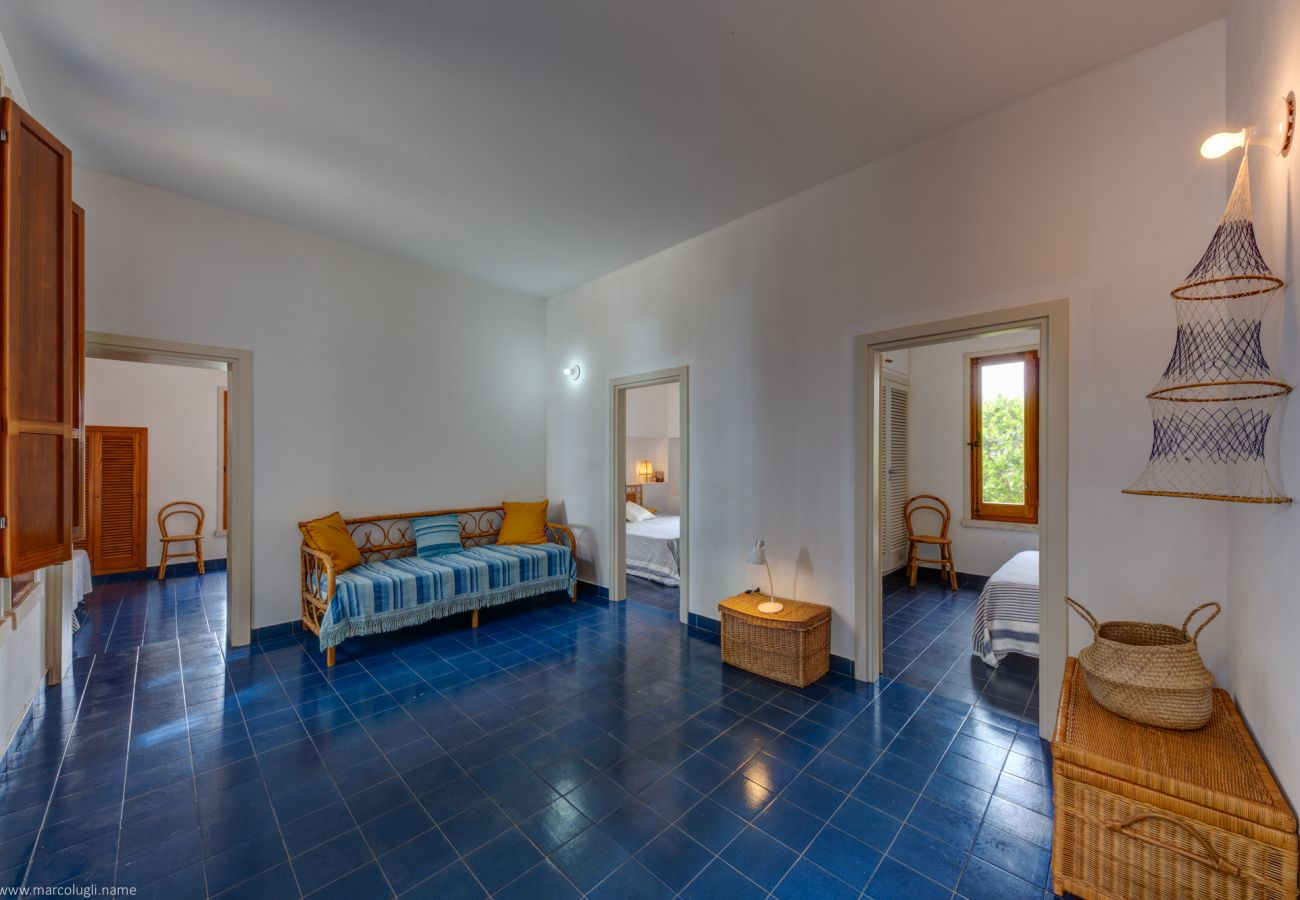 Villa a Castrignano del Capo - 2 ville sul mare con giardino mediterraneo e privacy