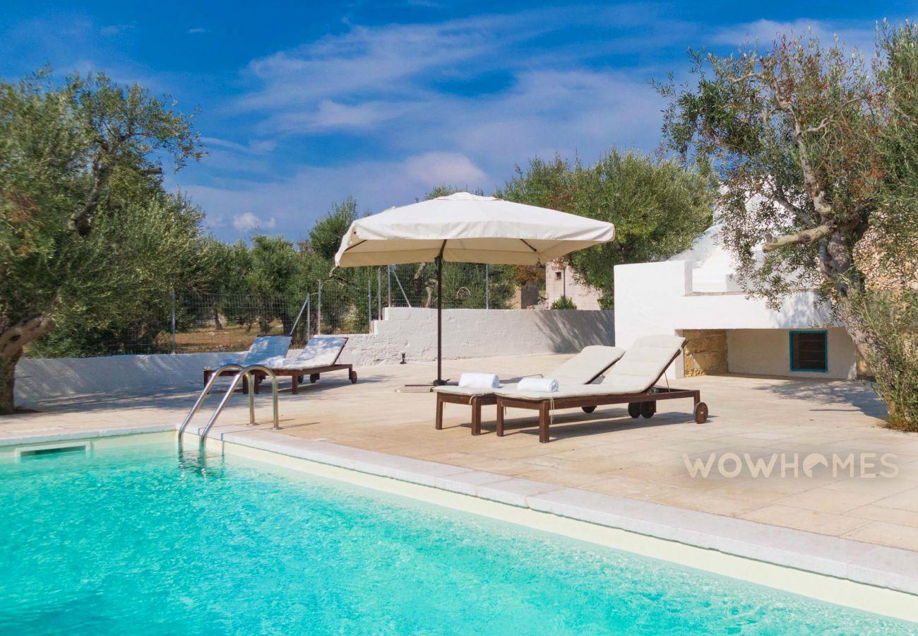 Trullo a Castrignano del Capo - Trullo romantico con piscina privata, a pochi minuti dal mare